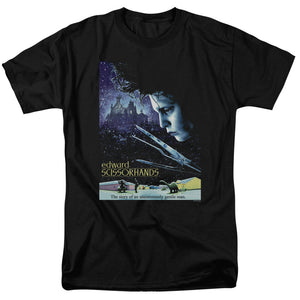 Edward Scissorhands Movie Poster Short Sleeve T-Shirt Adult Unisex Fandom
