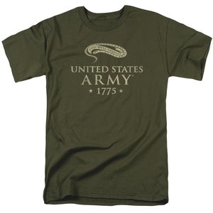 Army We'll Defend Short Sleeve T-Shirt Adult Unisex Proud Military Green