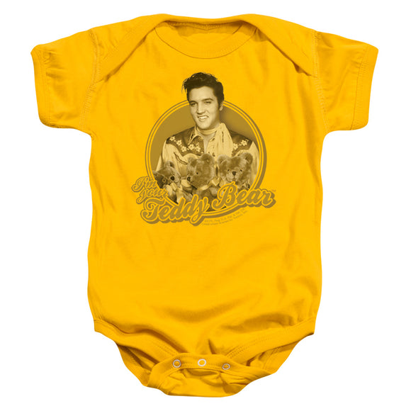 Elvis I'm Your Teddy Bear Infant Snapsuit Onesie Baby Toddler The King