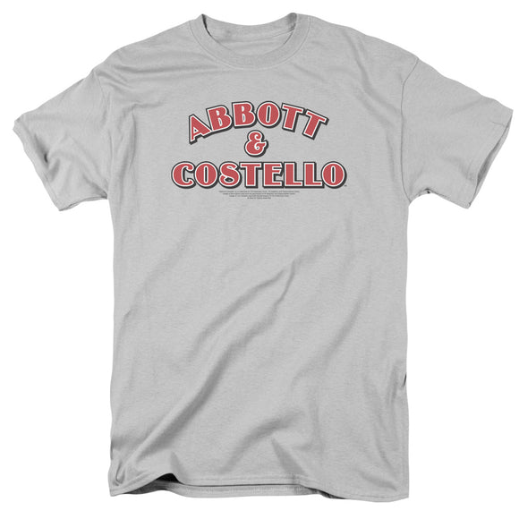 Abbott & Costello Logo Short Sleeve T-Shirt Adult Tee Unisex Bud and Lou Fans