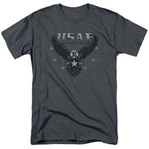 USAF Incoming Eagle Short Sleeve T-Shirt Air Force Unisex Men Women