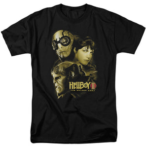 Hellboy II The Golden Army Ungodly Creatures Short Sleeve T-Shirt Adult Unisex