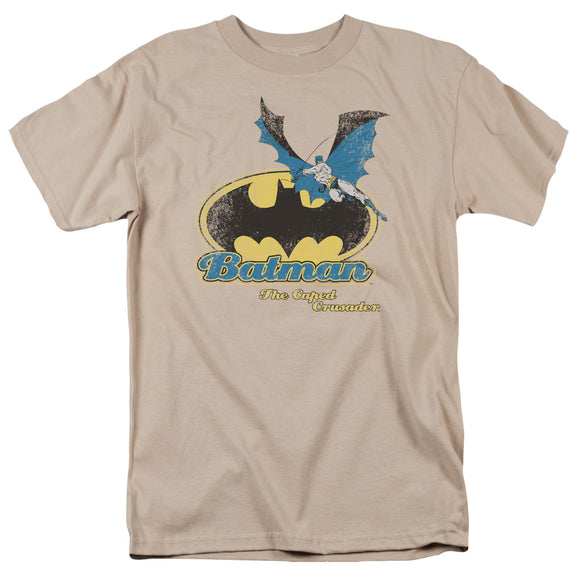 Batman The Caped Crusader Retro Short Sleeve T-Shirt Adult Unisex