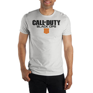 Call of Duty Black Ops 4 Short Sleeve Men's T-Shirt COD Apparel Video Game