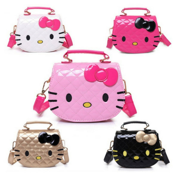 Hello Kitty Girls Mini Shoulder Bag Handle Adjustable Strap Child Kid Fan