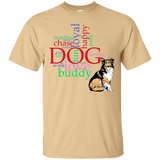 My Dog Buddy Short Sleeve Unisex T-Shirts Animal Lovers Cotton Roomy Fit Tees