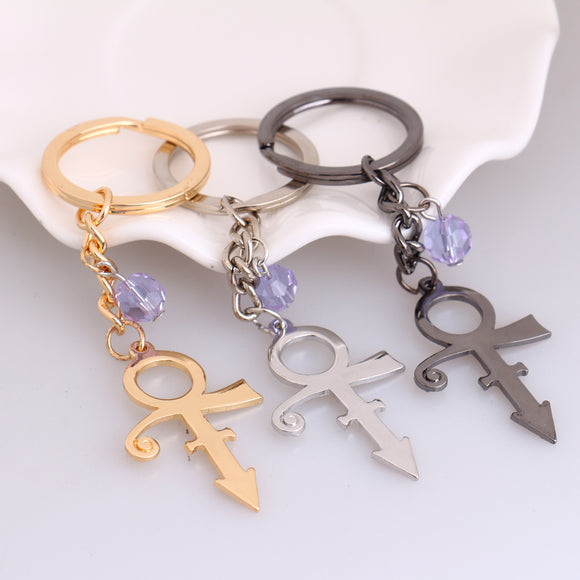 Prince Love Symbol Keychains Superstar Artist Icon RIP Women Fans