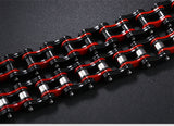 Cycling Men's Bicycle Chain Link Bracelet Stainless Steel Durable Bracelets