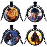 "Doctor Strange Pendant 20"" Necklace Hit Movie Unisex Handmade Black"