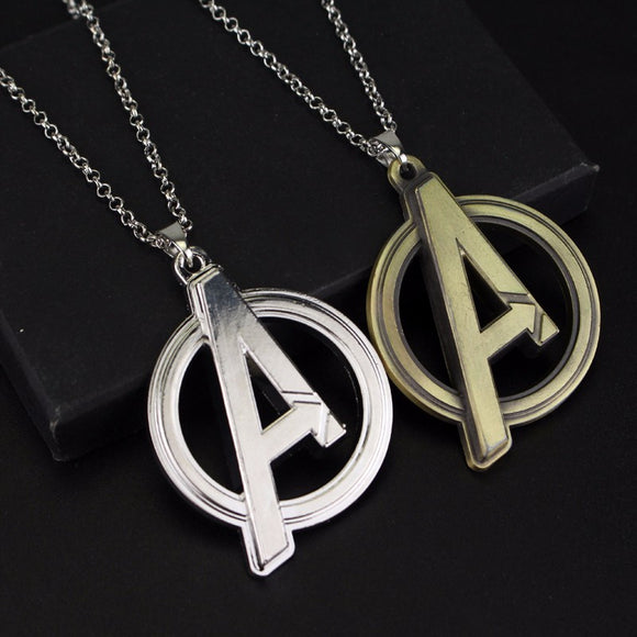 Marvel Avengers Logo Pendant Necklaces Superheroes Fans Infinity War