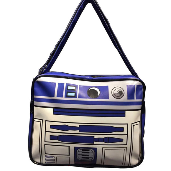 Star Wars Leather Messenger Bag R2-D2 Darth Vader Storm Trooper BB-8 Unisex