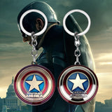 Captain America Shield Keychain The First Avenger Fans Jewelry Accessories