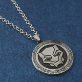 Black Panther Necklace and Keychain Set Avengers Infinity War Fans Wakanda