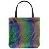Abstract Paint Art Tote Bag Shoulder or Carry Double Sided Print Travel Beach Bags
