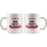 Best Father Ever White Ceramic Mug 11oz Coffee Cup Double Sided Print