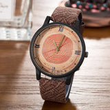 Wood Retro Women Casual Watches