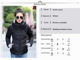 Winter Women Jacket Hooded 2018