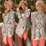 Knitted Cardigan Long Sleeve