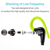 Hook Wired Outdoor Sport Headphones Earphone