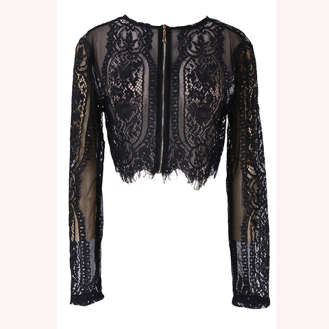 Women Summer Black Lace