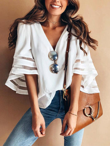 Boho Vintage Women Casual Loose T Shirt