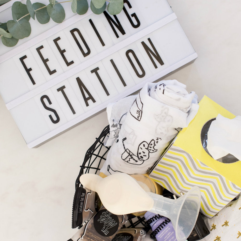 Create your Breastfeeding Station