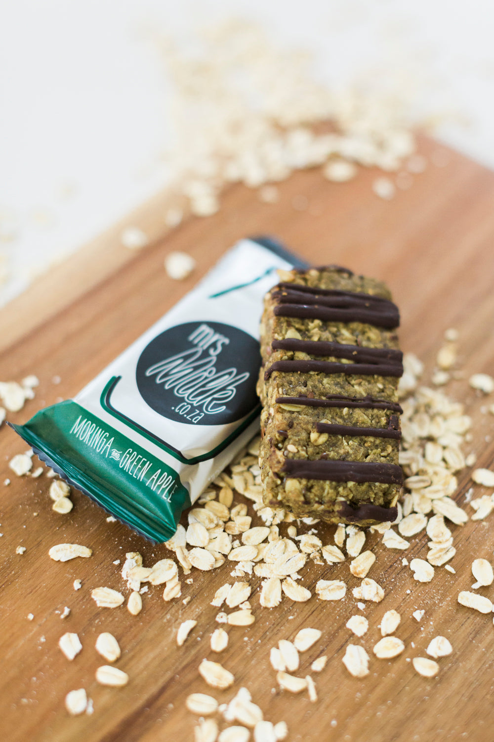 Our Moringa & Green Apple Lactation Oat Bars