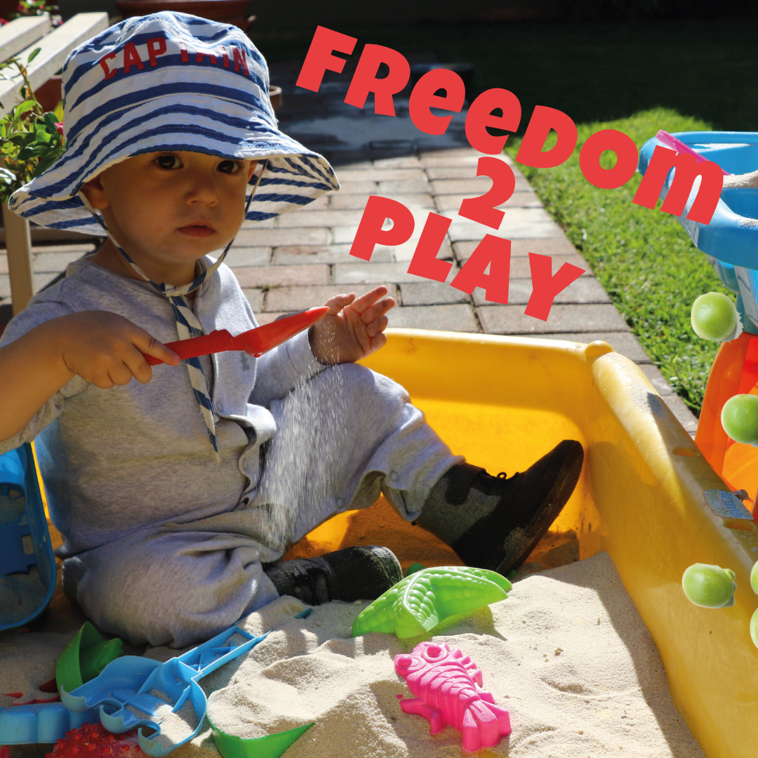 Freedom to Play - By Anandé Ferreira Founder of PlayMore