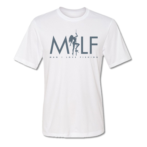 Man I Love Fishing T-Shirt - Short Sleeve