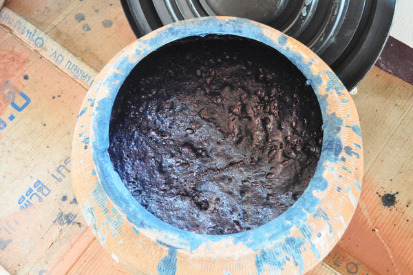 healthy indigo fermentation