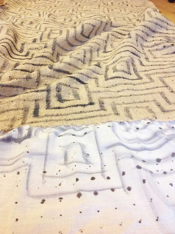 shibori stitching patterns