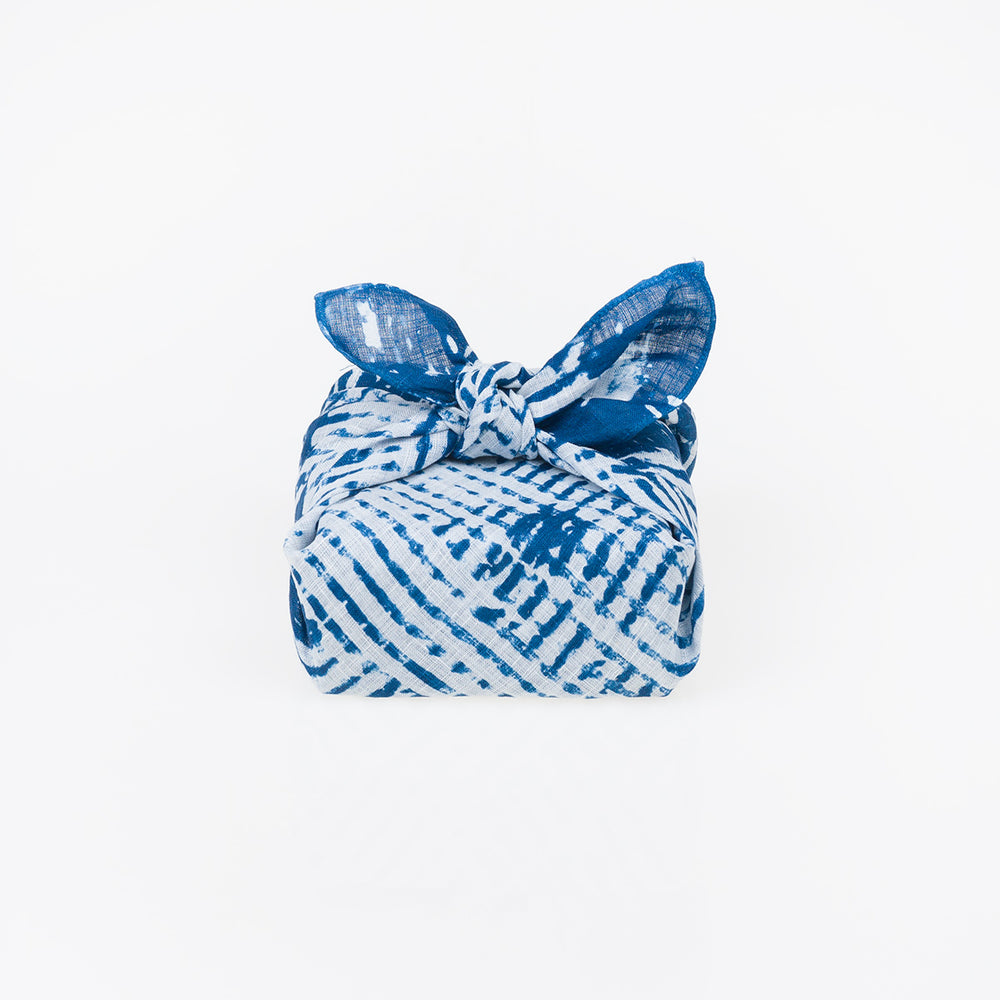 Furoshiki Wrapping Cloth - Crosshatch