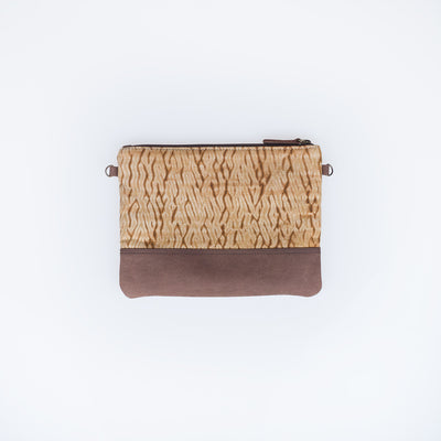 Leather Crossbody - Brown Woodgrain - Slowstitch Studio