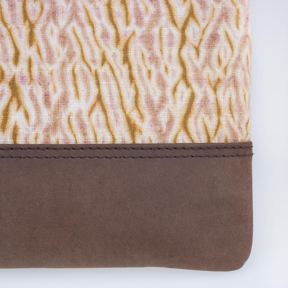 Leather Crossbody - Winewood - Slowstitch Studio