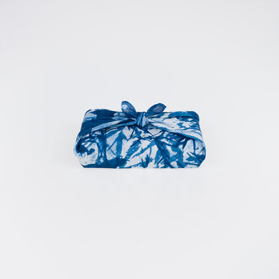 Linen Bandana - Blue Meadow #1