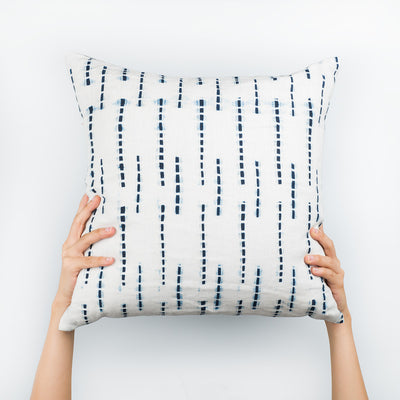 Bamboo Pillow - Slowstitch Studio