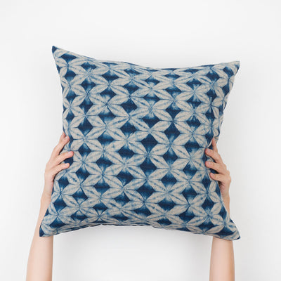 Beige Prisms Pillow - Slowstitch Studio