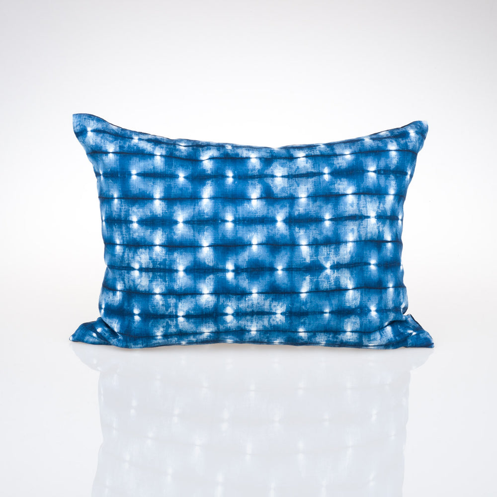 Fireflies Lumbar Pillow - Slowstitch Studio