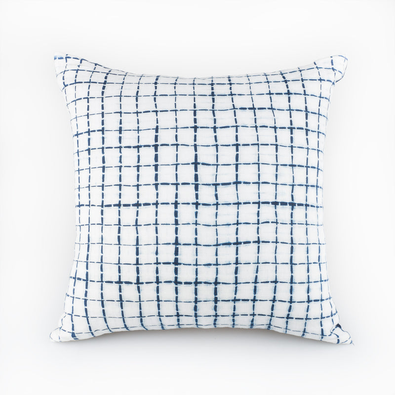 Grille Pillow - Slowstitch Studio
