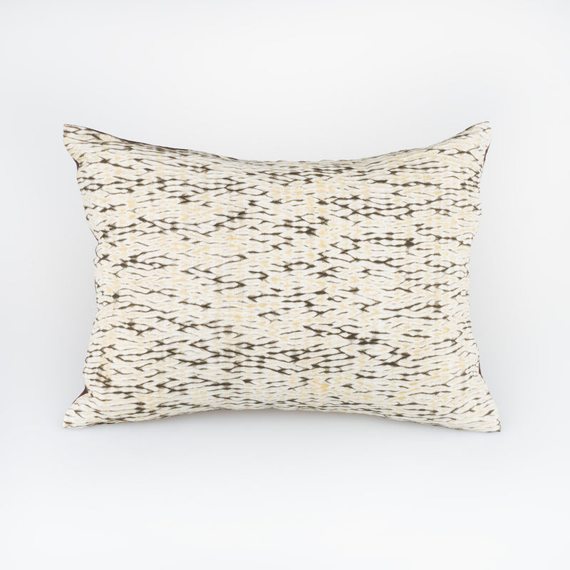 Smoke Pillow - Slowstitch Studio