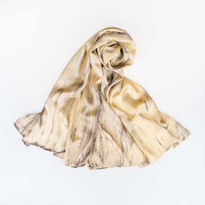 Silk Scarf - Arrakis - Slowstitch Studio