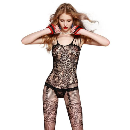 AEB149 Women Sexy Transparent Lace Open File Underwear