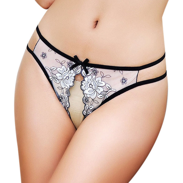 AEB48 Sexy Women G-String Underwear Lady's Thongs Lady Panties Lace Lingerie BU