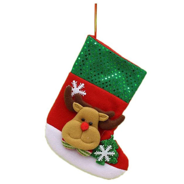 AEA13 Hot Christmas Stocking Xmas Hanging Decoration Party Ornament