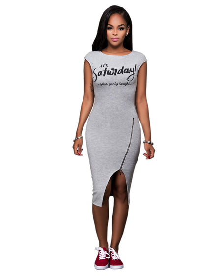 AECW01 Asymmetrical Autumn Dress Sexy Womens Off Shoulder Bandage Bodycon Evening Party Zippers Club Mini Dress