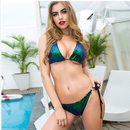 AEB314 Sexy Bikini Top New Push Up Swimwear Women Bikini 2017 Set Cross Bandage Beach Bathing Low Waist Brazilian Bikinis wholesale
