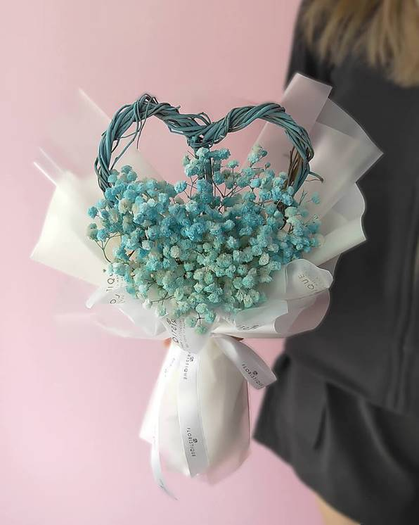 Baby Breath Flowers Bouquet for Anniversaries