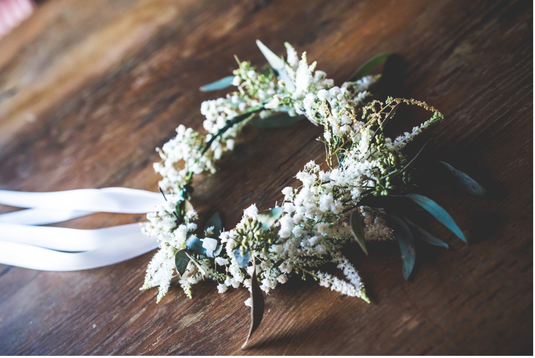 Floral Wreath for Bridesmaids