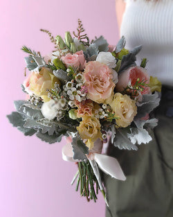 Wedding Bouquet Singapore Buy Bridal Flowers In Singapore Floristiquesg