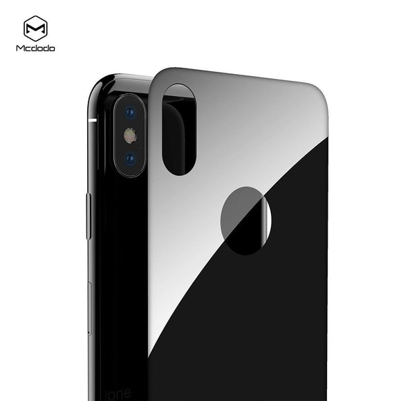 Mcdodo iPhone X 3D Back Protector Glass - Beauty Plaza